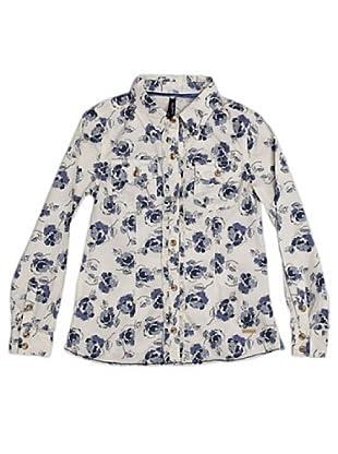 Pepe Jeans London Camisa Azuna (Blanco / Azul)