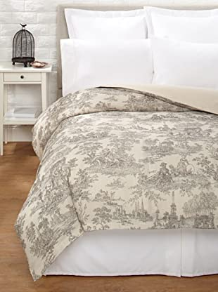 Amity Home Toile Duvet Cover (Brown/Natural)