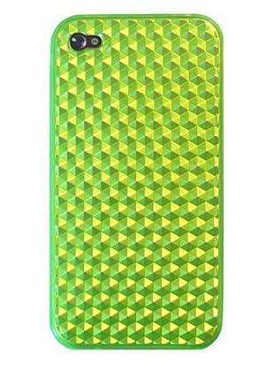 Blautel iPhone 4/4S Funda 4-Ok Diamond Oil Verde