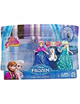 Disney Frozen Glitter Glider Anna, Elsa And Olaf