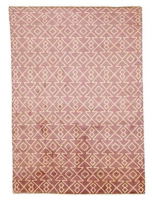 Azra Imports Vogue Rug, Purple/Ivory, 5' 5