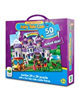 The Learning Journey Jumbo Floor Puzzles Fairy Tale Castle, Multi Color
