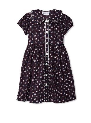 Rachel Riley Girl's Anchor Print Button Dress