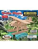 3-D Wooden Puzzle - Small Water Plane Model -Affordable Gift for your Little One! Item #DCHI-WPZ-P05