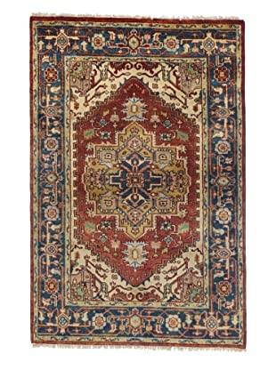 Rug Republic One Of A Kind Bokhara Hand Knotted Rug, Bokhara Red/Multi, 8' 2
