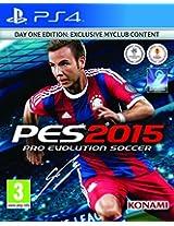 Pro Evolution Soccer 2015 Day 1 Edition (PS4) (UK IMPORT)