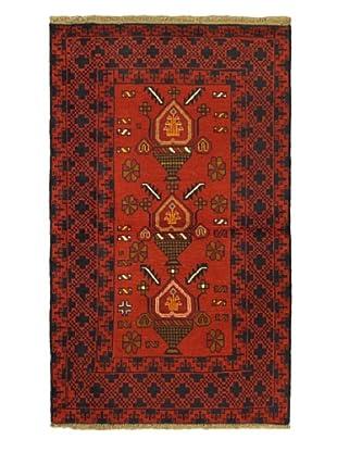 ecarpetgallery Bahor Rug, Red, 3' 9