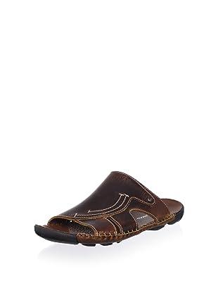 Bacco Bucci Men's Rusty Slide Sandal (Brown)