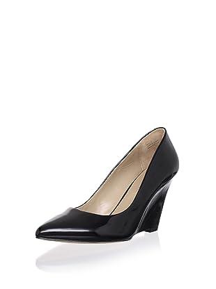 Pour La Victoire Women's Mai Wedge (Black Patent)