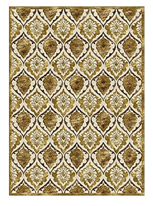 Rugs America Salerno Chenille Panel (Panel Gold)