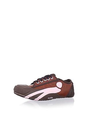 Cushe Women's Pimp Sneaker (Brown/Pink)