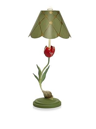 Aqua Vista Lighting Flame Tulip Lamp