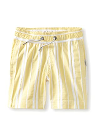Onia Boy's Charlie Trunks (Yellow/White Stripe)