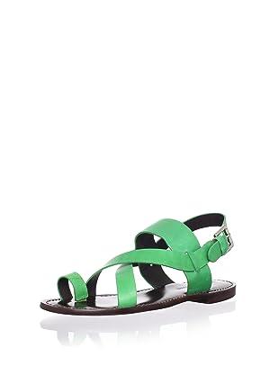 Pour La Victoire Women's Jamary Flat Sandal (Kelly)