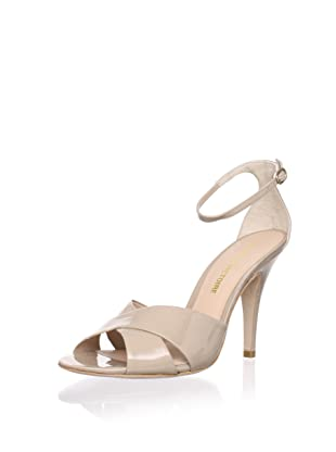 Pour La Victoire Women's Kalinda Sandal (Tan Patent)