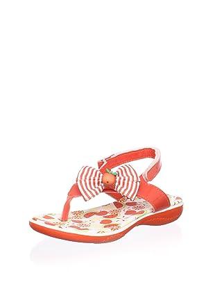 Pampili Kid's Sandal with Bow (Orange)