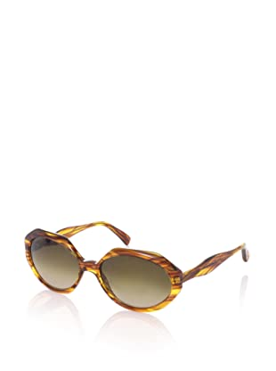 MARNI Women's MA078S Sunglasses (Light Havana)