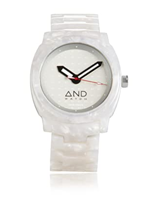 AND Watch Unisex Parmenides White Cellulose Acetate Watch