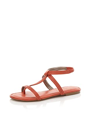 HK by Heidi Klum Women's Marly Ankle-Strap Sandal (Coral)