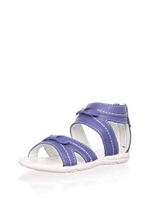Billowy Kid's Criss-Cross Sandal (Blue)