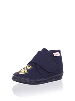 Cienta Kid's Teddy Sneaker (Navy)