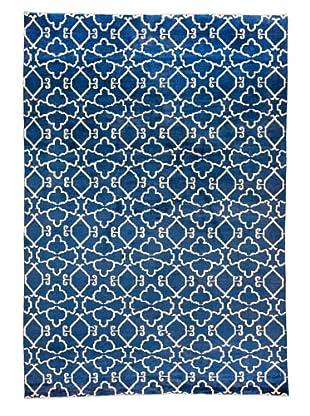 Azra Imports Vogue Rug, Blue/Ivory, 5' 5
