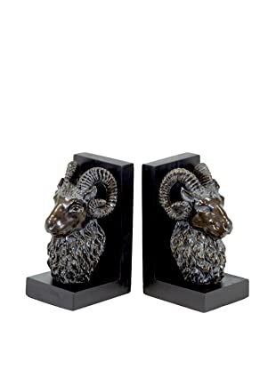 Set of 2 Ram Bookends