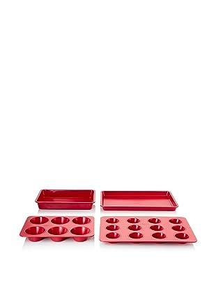 Reston Lloyd PrepCo Baking Set (Red)