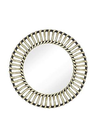 Porter Mirror (Antique Silver/Black)