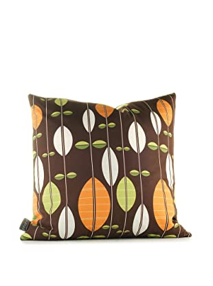 Inhabit Carousel Pillow (Chocolate/Sunshine)