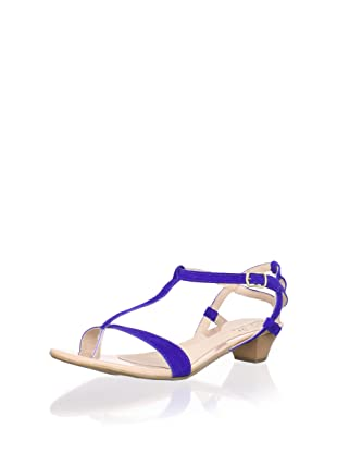 Contramao Kid's T-Strap Sandal (Blue)