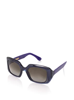 MARNI Women's MA004S19 Sunglasses (Blue/Black)