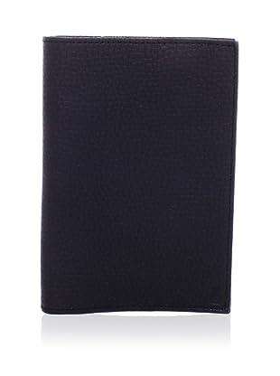 John Varvatos Star USA Men's Raw Edge Passport Case (Black)