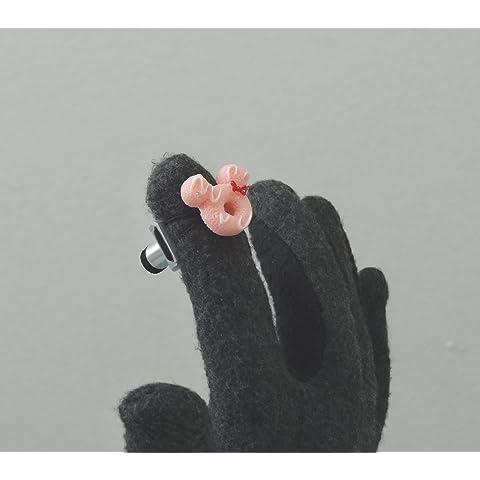 手袋用フィンガーチップ タッチペン2(Fingertip Touch Pen 2) ピンクドーナツ
