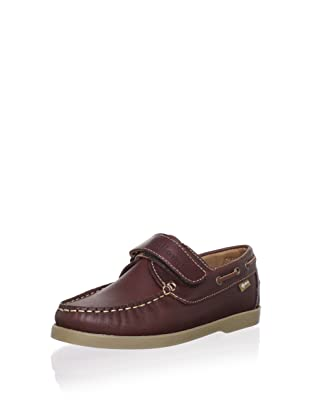 Billowy Kid's Leather Loafer (Brown)