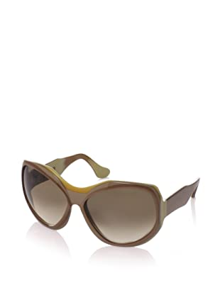 MARNI Women's MA101S Sunglasses, Brass/Mink