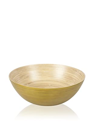 Core Bamboo Extra Large Modern Round Bowl (Lime)