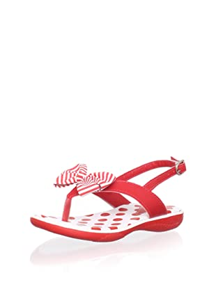 Pampili Kid's Thong Sandal with Bow (Red)