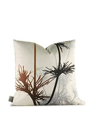 Inhabit Prairie Pillow (Charcoal/Rust)