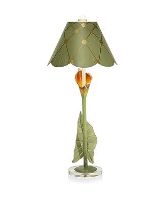 Aqua Vista Lighting Auburn Calla Lily Lamp