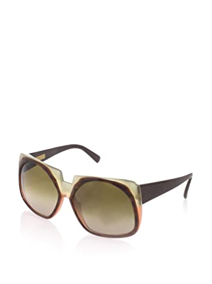 MARNI Women's MA082S Sunglasses (Havana/Mud-Brick)