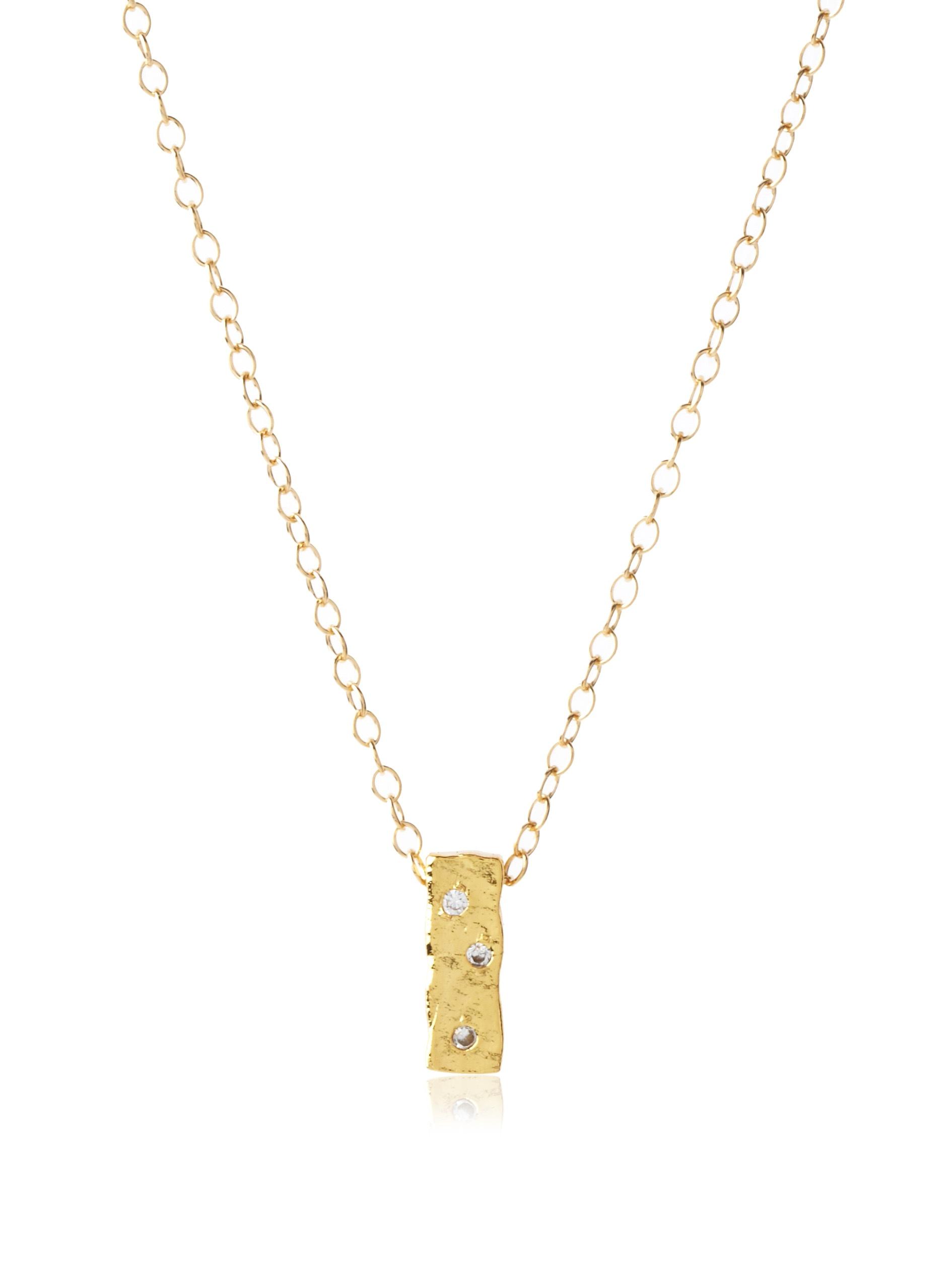 gorjana Merced Necklace, Gold