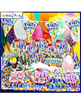 Funcart Party Time Theme Combo (Pack of 90 Pcs.)