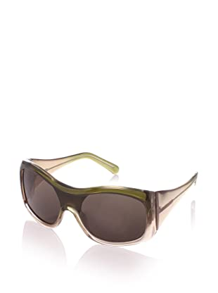 MARNI Women's MA085S Sunglasses, Shaded/Green
