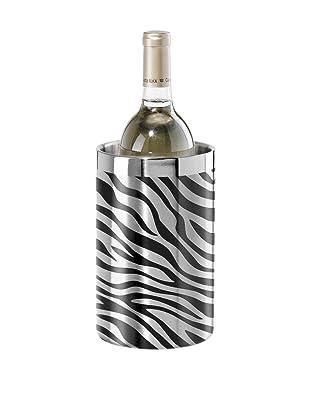Oggi Zebra Stainless Steel Double Wall Wine Cooler