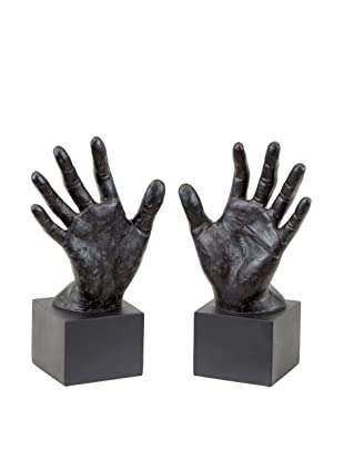 Set of 2 Hand Bookends