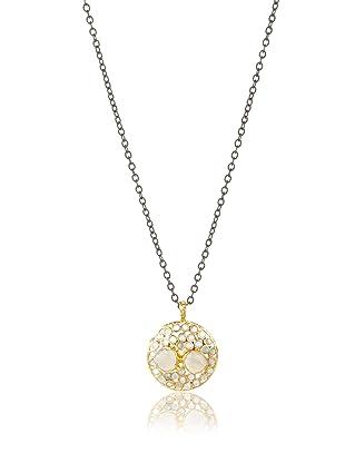 Robindira Unsworth Moonstone Mosaic Necklace