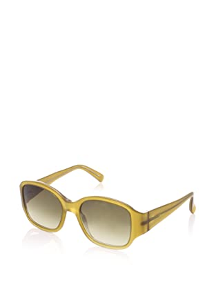 MARNI Women's Acetate Sunglasses Materiali Occhiali Donna I07 (Mustard/ Crystal)
