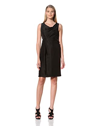 MARTIN GRANT Women's Draped Dress (Black)