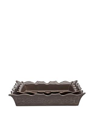 Appolia Flavours 2-Piece Rectangular Baker Set (Black Pepper)